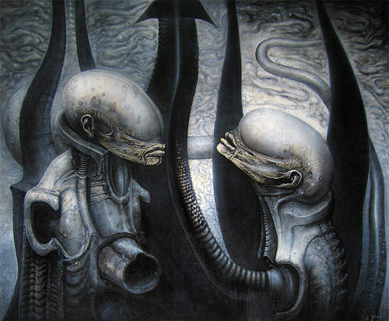 Giger Art Gallery  Alien Covenant Forum