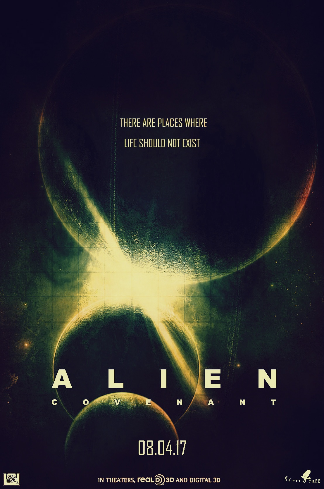 Alien: Covenant fan poster thread (Share your artwork here ...