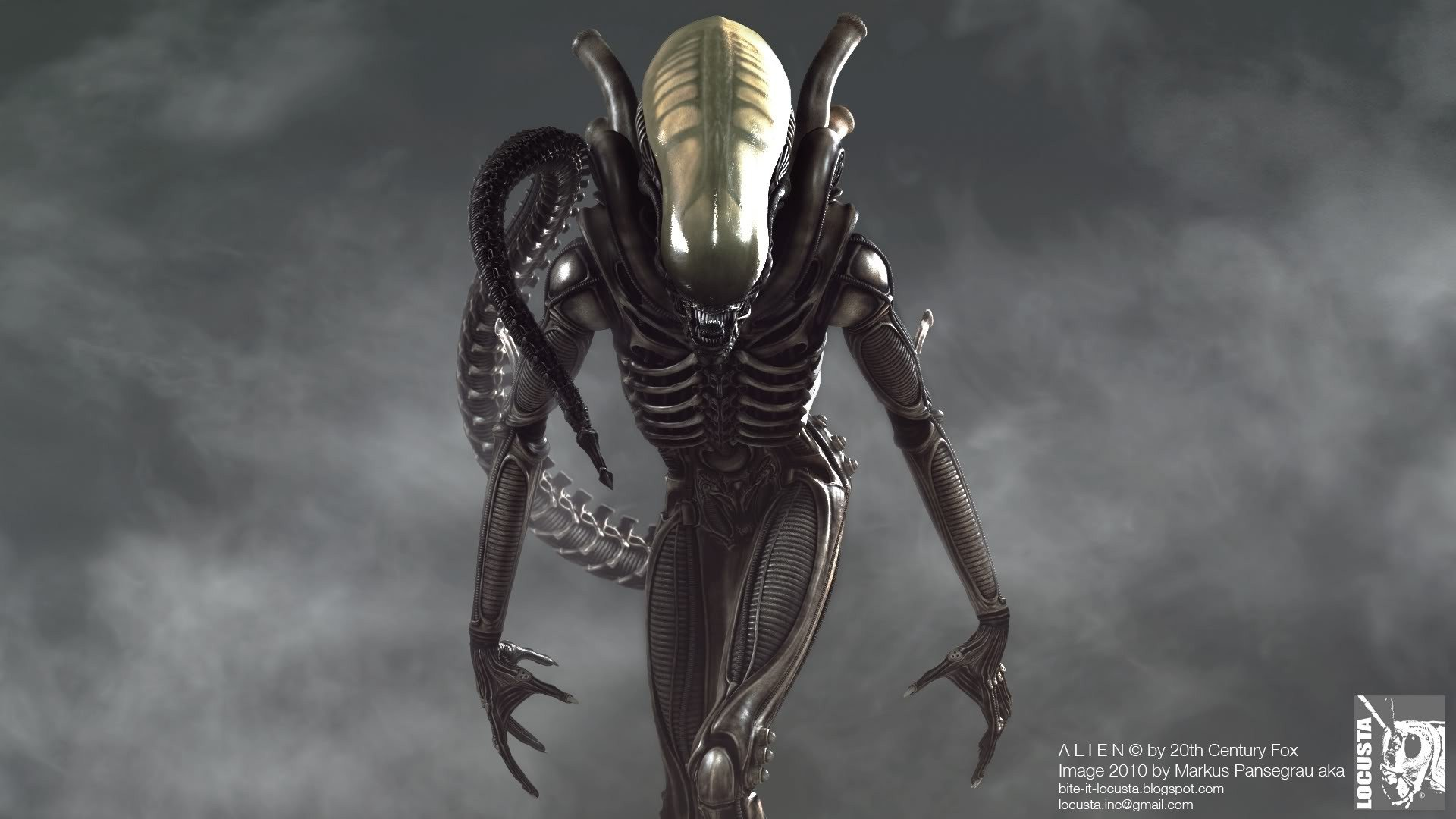 Xenomorph, Space Jockey, identical body types, which came